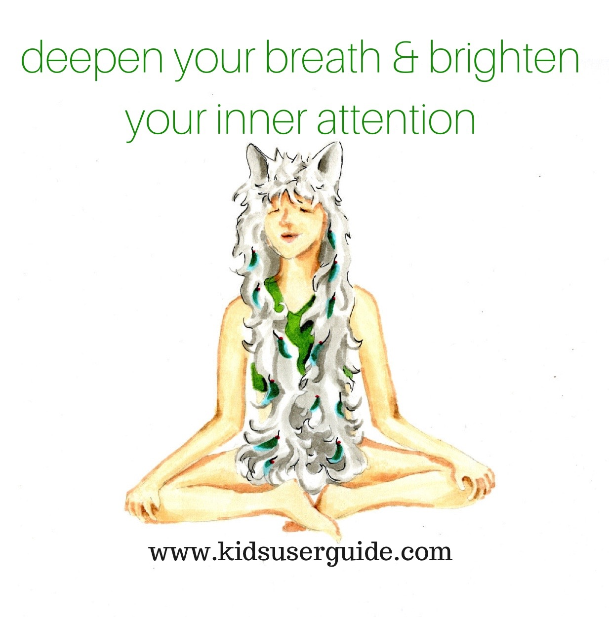 Deepen your breath & brighten your Inner Attention